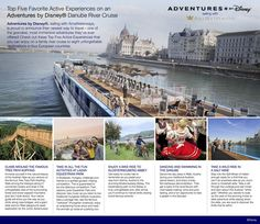 An Adventures by Disney Danube River Cruise vacation has countless active adventures in store for you and your entire family! With so many options to choose from, here's a glimpse at the top five active experiences on one of these amazing River Cruise vacations.