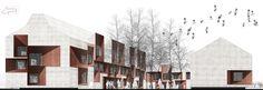mir_architettura, Francesca Da Canal · NUOVO CENTRO CIVICO INTEGRATO. TRAVACO' SICCOMARIO