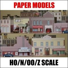 Amazon.com: 150 Paper Model Buildings CD: Toys & Games
