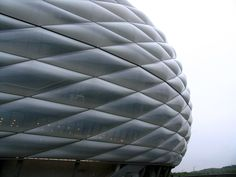 Allianz Arena, Munich by Herzog & de Meuron, 2005  //  ETFE with LED lighting
