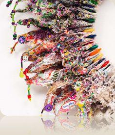 Jill Flower ~ textile artist 'Modern woman III ( The ...