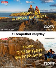 VisitBritain has launched a new campaign encouraging people to enjoy weekend breaks this winter, while still observing health and safety restrictions. British Travel, British Countryside, Weekend Breaks, Health And Safety, Weekend Getaways, Where To Go, Campaign, Coast, Winter