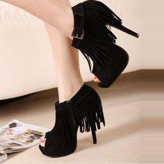 Fringe shoes!