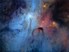 IC 4603 - The Turbulent Heart of the ScorpionThis image shows the core region of the Rho Ophiuchi Complex, centered around the prominent blue reflection nebula IC 4603. This is one of the nearest star forming regions and the intricacies of the dense...