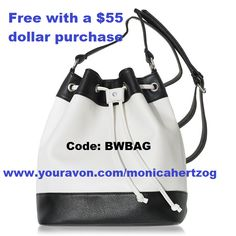 #free #colorblock #drawstring #bag with a 55 dollar #purchase at https://monicahertzog.avonrepresentative.com #avon #Minnesota #avonrepresentative #leader