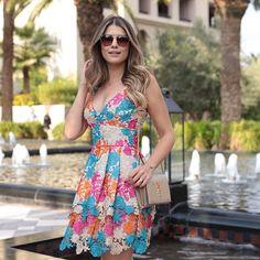 """""""✨✨{️#unicasbyarianecanovas}✨✨ ️pq esse vestido de guipir  merece #overposting #somosunicas #unicasstore"""""""