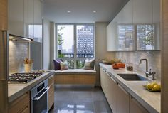 20 Sophisticated Galley-Style Kitchens