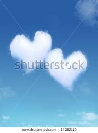 Image result for heart shaped cloud images
