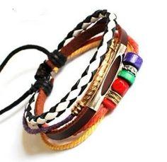Jewelry bangle leather bracelet women by jewelrybraceletcuff, $8.00