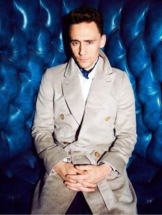 Tom looks smouldering in these GQ UK photo shoot shots