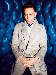 Tom Hiddleston by Dylan Don for GQ UK November 2013.