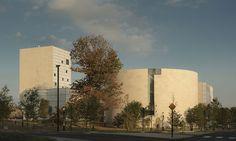 Lewis Arts Complex, Princeton University   Steven Holl Architects   Photo © Paul Warchol