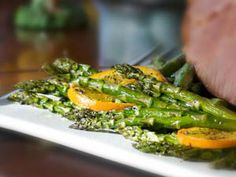 A bright green and flavorful dish to welcome the spring season! Fresh asparagus adds visual appeal to any plate.