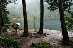 Lena Lake - An uber-popular summer destination, the mossy 3-mile hike to Lena Lake can be downright peaceful in the winter. Go prepared for all kinds of weather, but the lake's lower elevation means you're unlikely to see much snow. (Photo by Bob and Barb). #hiking