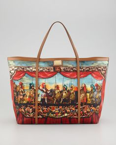 Miss Escape Tote Bag - I think this bag is great.  The mural effect is awesome!