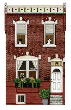 House Portraits - adriennelanger.com