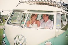 Vintage blue Kombi from Woody's Car Hire, Australia