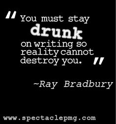 Ray Douglas Bradbury was an American fantasy, science fiction, horror and mystery fiction author. Description from quotesgram.com. I searched for this on bing.com/images
