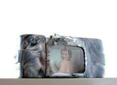 Vintage Slide Viewer Gray Marble Plastic Arrow View by veraviola, $25.00