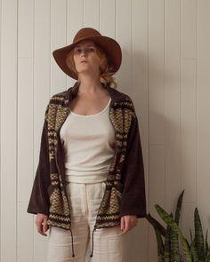 Vintage fleece, size M Mock Neck, Im Not Perfect, Kimono Top, Shopping, Vintage, Tops, Women, Fashion, Moda