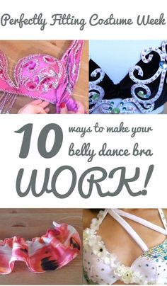 b1c79cbc2b53 10 Ways to Make Your Belly Dance Bra Fit (with minimal sewing!) - Perfectly  Fitting Costume Guide 1/3