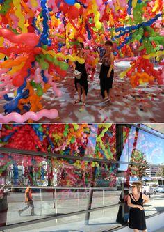 Life. Life installation by Choijeonghwa