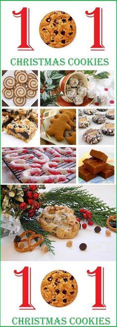 101 christmas cookie recipes, christmas cookie recipes