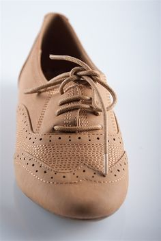 Super Stitched Oxfords - Camel from Casual & Day at Lucky 21 Lucky 21$21