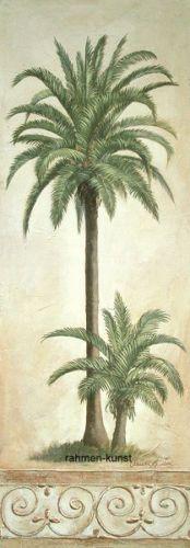 Claudia-Ancilotti-Coconut-Palm-Palmen-Fertig-Bild-25x70-Wandbild
