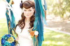 #bride #wedding #colors #braidedheadband #prettymakeup #beautybyjill