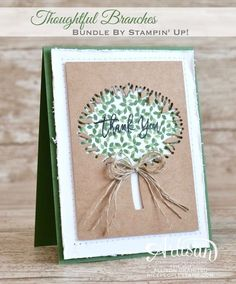 Thoughtful Branches: Sneak Peek Stampin' Up! Artisan Blog Hop
