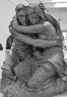 """""""The Abyss"""" by Pietro Canonica #figurative #realist #sculpture #art"""