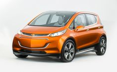 General Motors shows they are more than passively interested in the future of electric cars today at the Detroit Auto Show with the striking Chevrolet Bolt EV Concept.Looking remarkably close to a Chevrolet Volt, Chevrolet Spark, Chevy, Electric Bolt, Electric Cars, Electric Vehicle, Electric Car Concept, Toyota, Detroit Auto Show