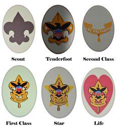 Boy Scout Badge Die Cuts by threeofakindmunchkin on Etsy