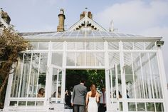 Bride & Groom entrance from Conservatory St Julians Club