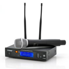 uhf wireless microphone system with digital pilot control and anti interference