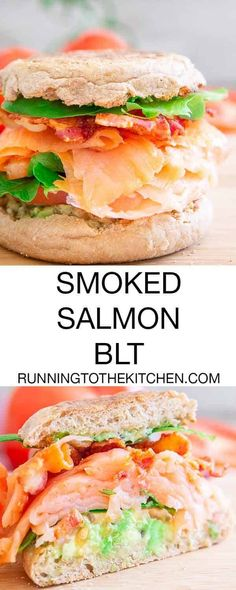 Step up your BLT game with this smashed avocado smoked salmon BLT, an easy and incredibly delicious breakfast or lunch.