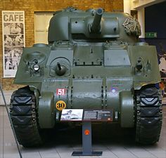 M4A4 Sherman Medium Tank at the Imperial War Museum