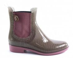 Tommy Hilfiger Chelsea Boots beige - Gummistiefel  #chelseaboot #Hilfiger #festival #rainboots