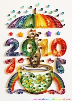 Year Quilling