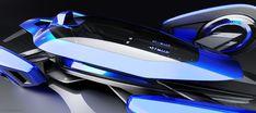 E-lecktron Formula E Concept Racing Car by Frédéric Le Sciellour