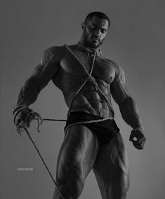 Muscle and ropes