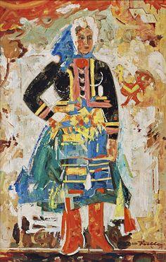 Ľudovít Fulla: Gazdiná:1969 Heart Of Europe, Painters, Illustrators, Folk Art, Milan, Nostalgia, Artists, Colour, History