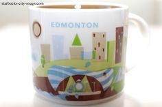 YOU ARE HERE SERIES | Starbucks City Mugs, Edmonton