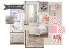 Idea's for Hailey's future toddler/ big girl room...I'm in love with patterns