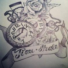 Time Heals by TheLadyJem on DeviantArt Time Heals Tattoo, Black Cloud Tattoo, Tattoo Shop, Healing, Ink, Deviantart, Tattoos, Tattoo Art, Tatuajes