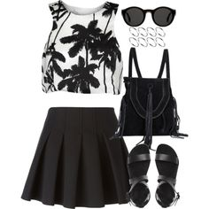 Untitled#2802 by fashionnfacts on Polyvore featuring Alexander Wang, Mykita and ASOS