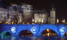 Le 1er janvier 2002, le Pont Neuf est choisi pour symboliser le passage à l'euro.