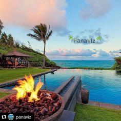 A palm tree and a glorious Hawaiian sunset.  Photo by @PanaViz  #panaviz #resortphotography #hawaiirealestatephotographer  #ig_supershots #instahub #ig_bestshots #igtravel #love #resortphotographer #travelphoto #luxuryhawaii  #pool #aloha #hawaii  #hawaiilife #luxuryhawaii  #sunset #instahub #instagood  #palmtrees #clouds #paradise  #signatureshots_hub  #luxuryhawaiirealestate #ig_sharepoint #dreamhome #luxuryhomesu #fire #smile