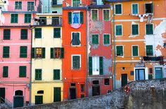 Cinque Terre is a region on the Italian Rivera consisting of five small fishing towns that hug the cliffs along the turquoise Ligurian Sea.